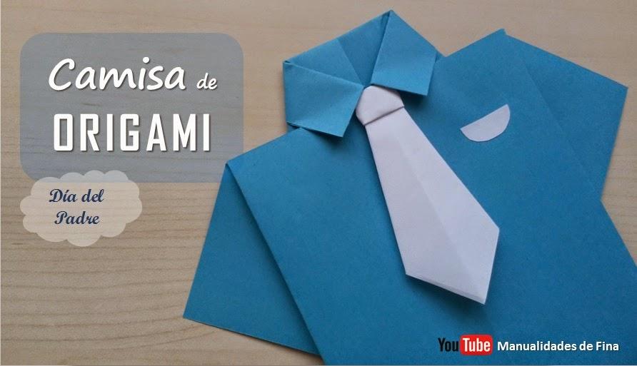 Manualidades De Fina Diy Camisa Y Corbata De Papel Día Del Padre