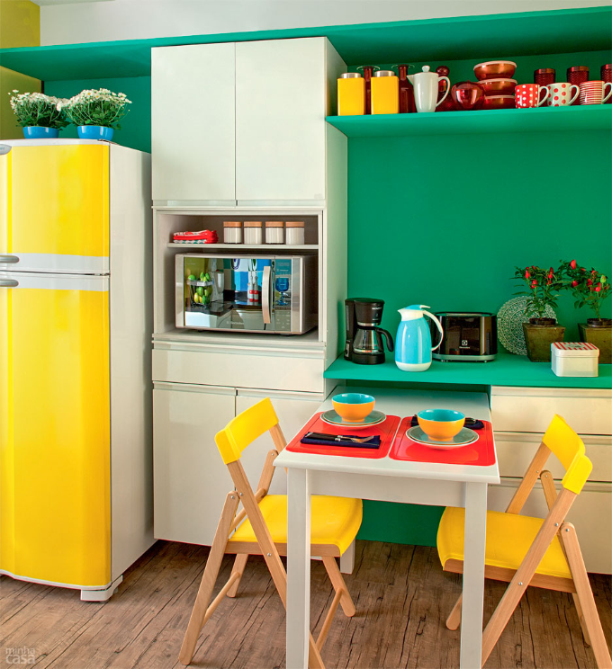 Para se Inspirar: Decoração Verde e Amarelo