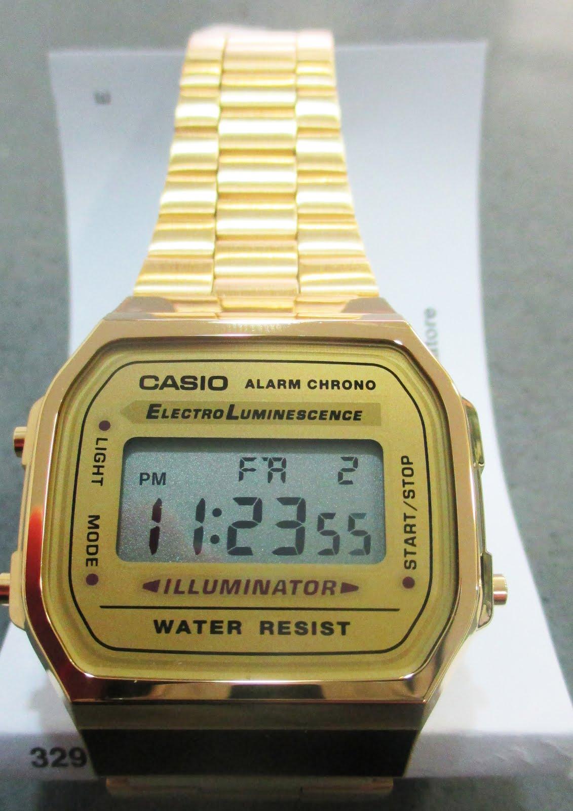 Reloj digital Casio para chica