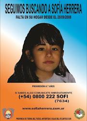 Buscamos a Sofia Herrera