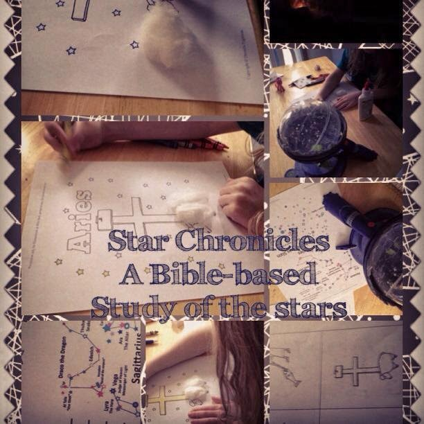 homeschool science,science,star chronicles,Biblical star study