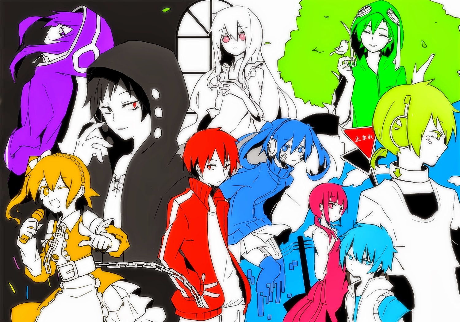 Mekaku City Actors [01-12] [En Emision] [Mega]