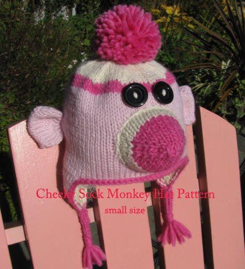 sock monkey hat knitting pattern image search results