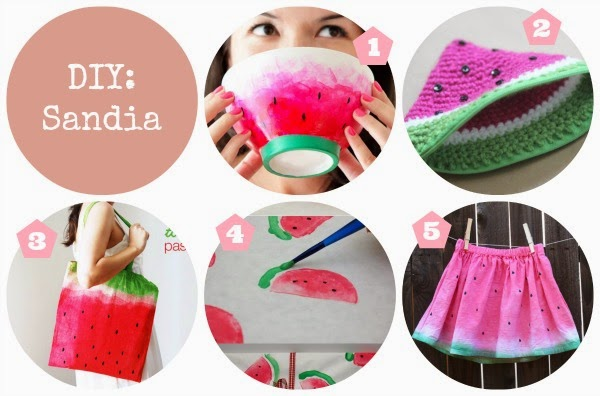 Tutoriales DIY Sandia