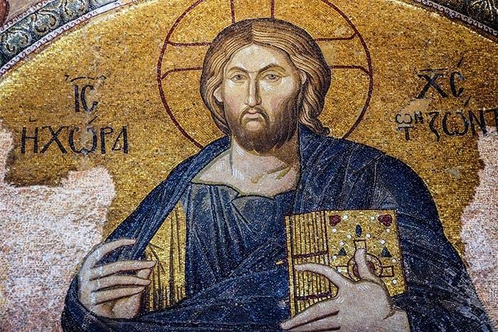 Mosaic of Christ Pantocrator