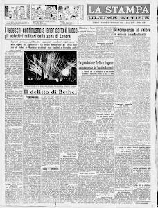 LA STAMPA 20 SETTEMBRE 1940