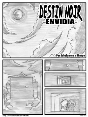 destin noir, comic costarricense, guión descarga