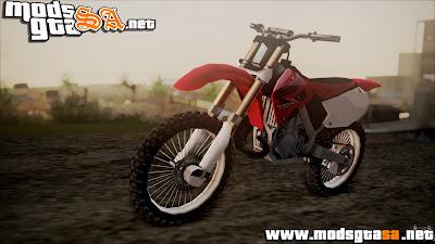 SA - Honda CR125