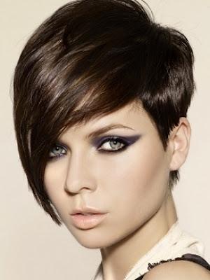 los pelados cortos estan de moda este ao con flequillo y degradado with que cortes de cabello estan de moda - Pelados De Moda