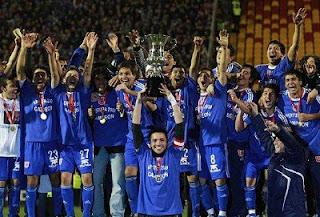 Universidad de Chile campeón del clausura 2011