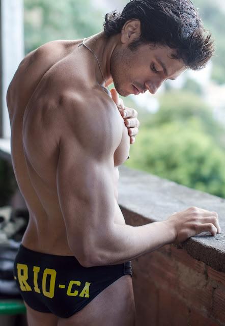 Sexy model Maikel Castro