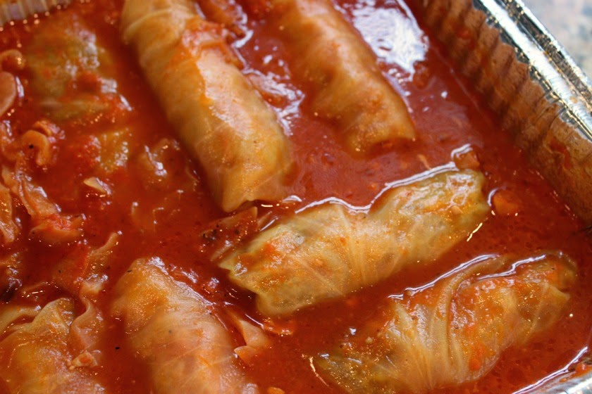 how to cook pre made cabbage rolls