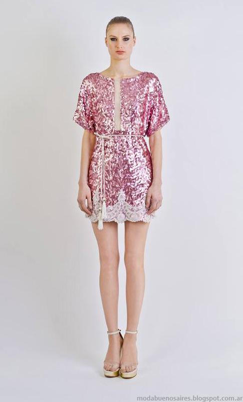 Vestidos moda 2014. Natalia Antolin verano 2014.