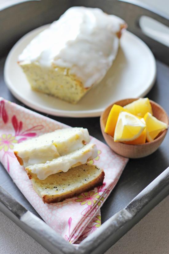 Chocolate Shavings: Lemon Poppy Seed Loaf with a Lemon Glaze