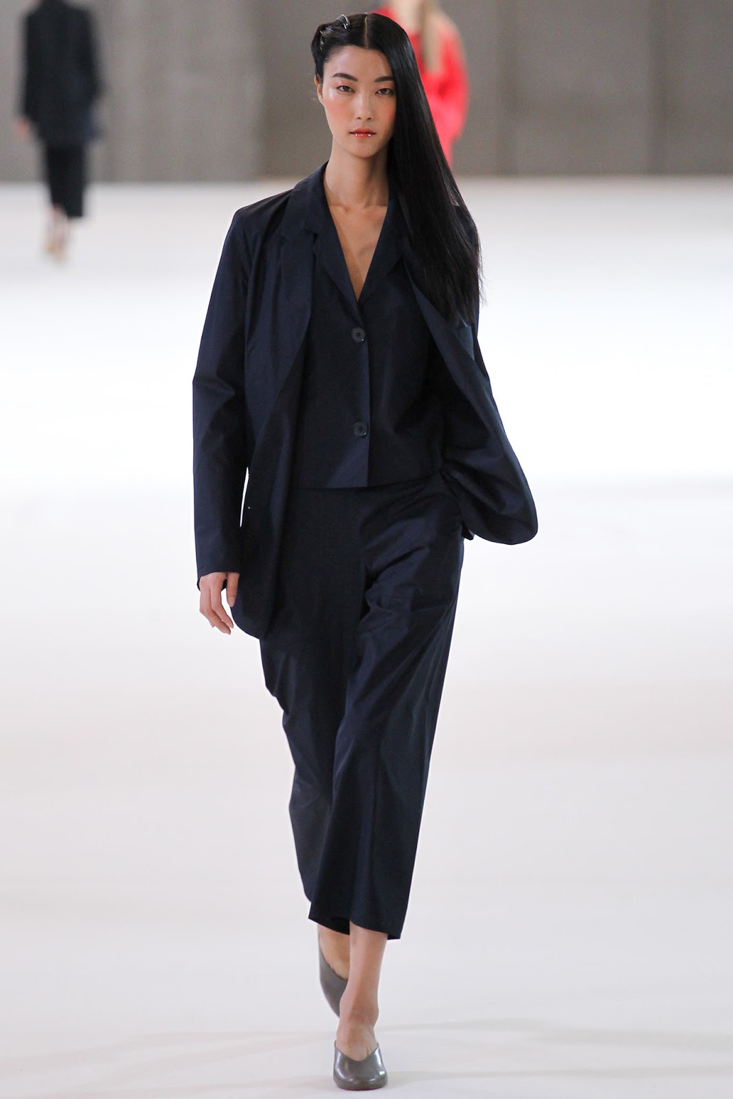 Christophe Lemaire / Spring/Summer 2015 trends / trouser suit / styling tips and outfit inspiration / via fashioned by love british fashion blog