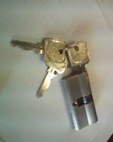 Cylinder double key DEKSON 60 mm