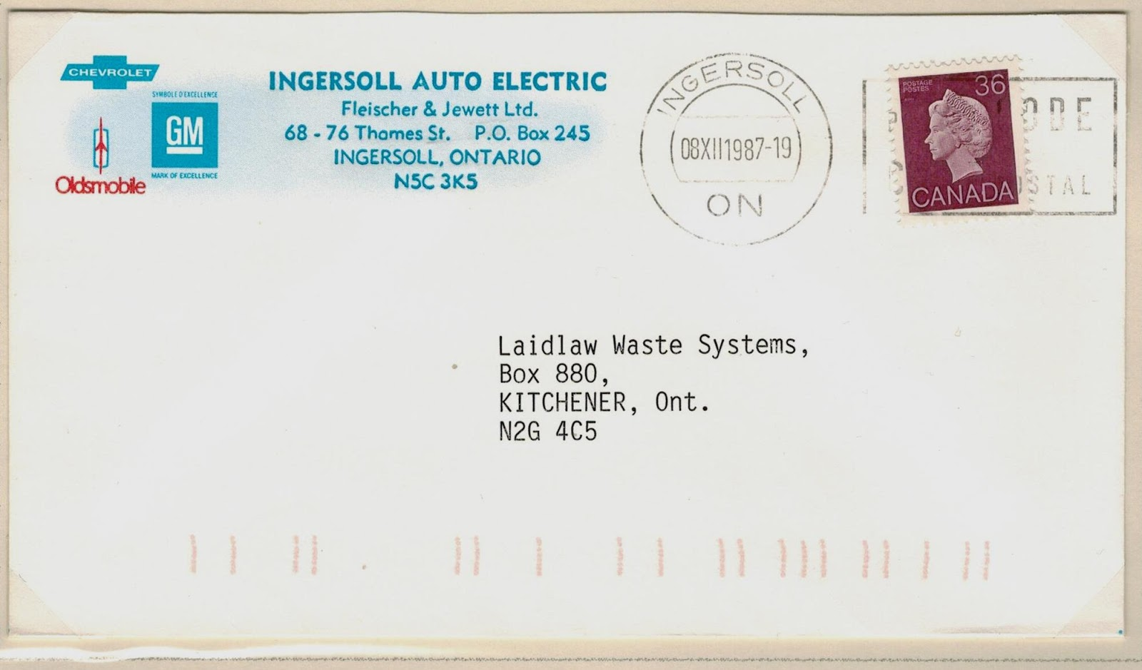 Postal History Corner: Klussendorf Machine Cancellations