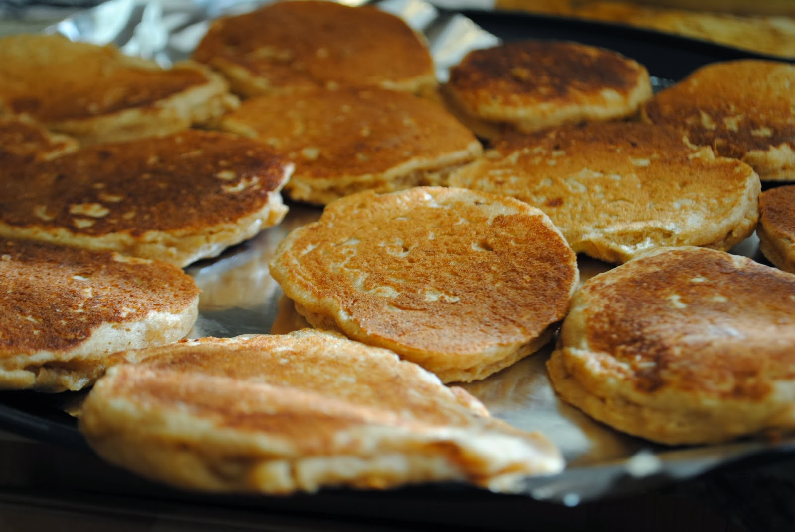 freezing pancakes