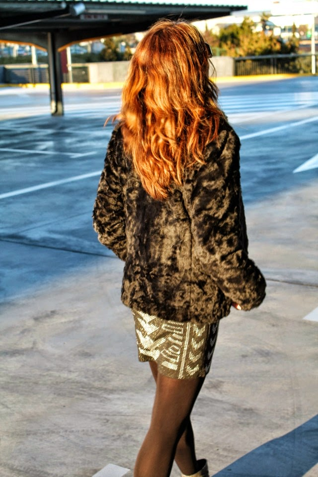 #LOOK. Sunset Fur