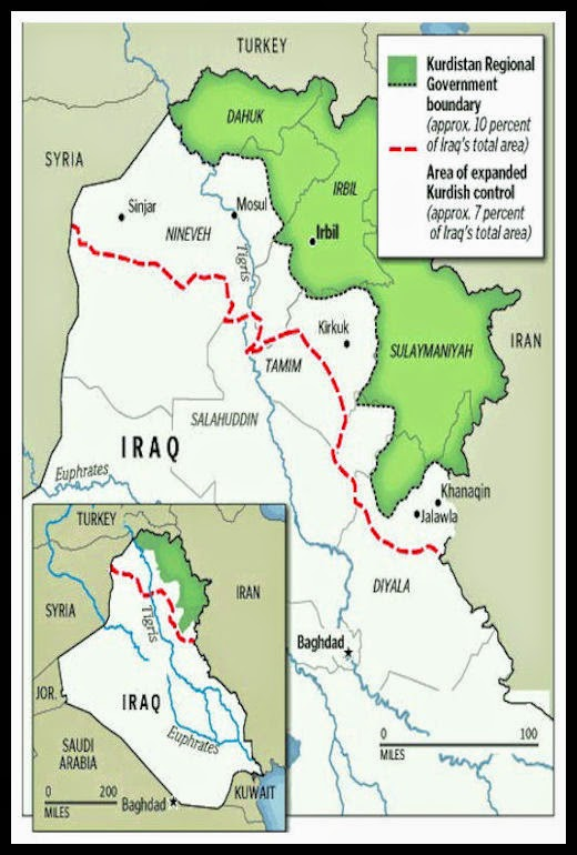 Alessandro Baccis Middle East Iraqi Kurdistans Occupation of – Map of Iraqi Oil Fields