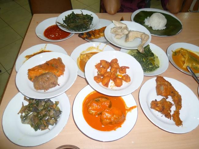 Gastronomía de Padang