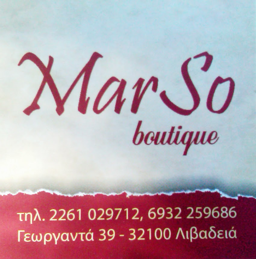 . MAR SO  BOUTIQUE