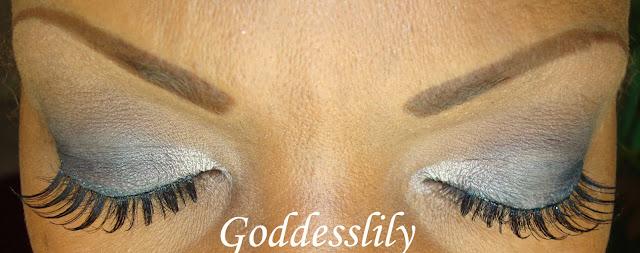 Mac Lady Danger Lip and Grey Smokey Eye