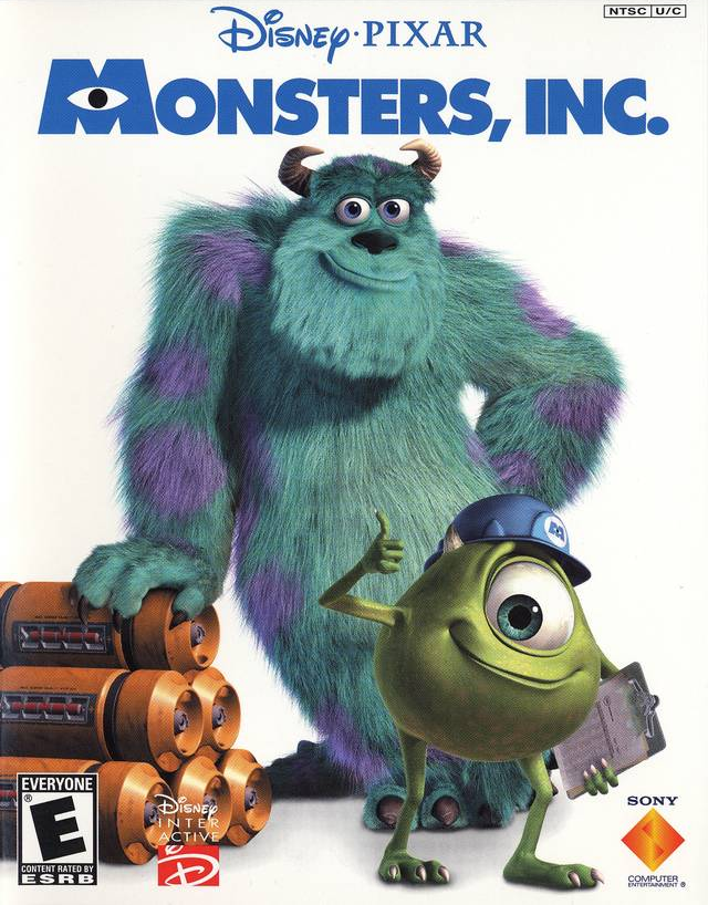 Had a grand time today going to see the reissued monsters inc