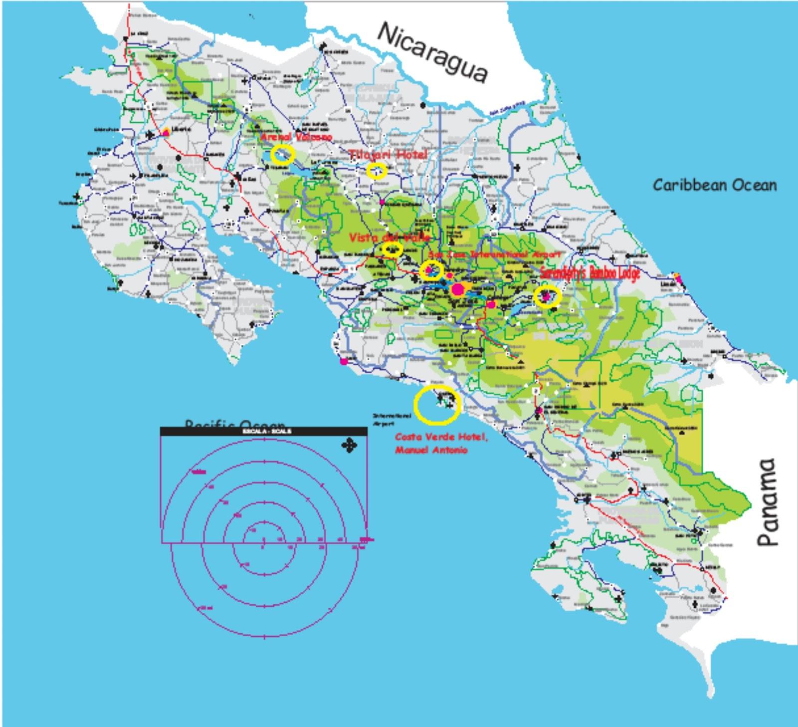 Costa Rica Road Map 2012 – Jerusalem House