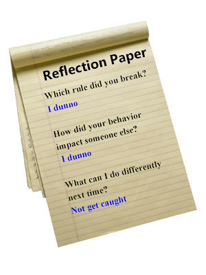 Middle school reflection essays