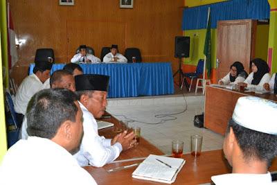 Kemenag Tanjungbalai Laksanakan Rakor Pejabat Struktural dan Fungsional