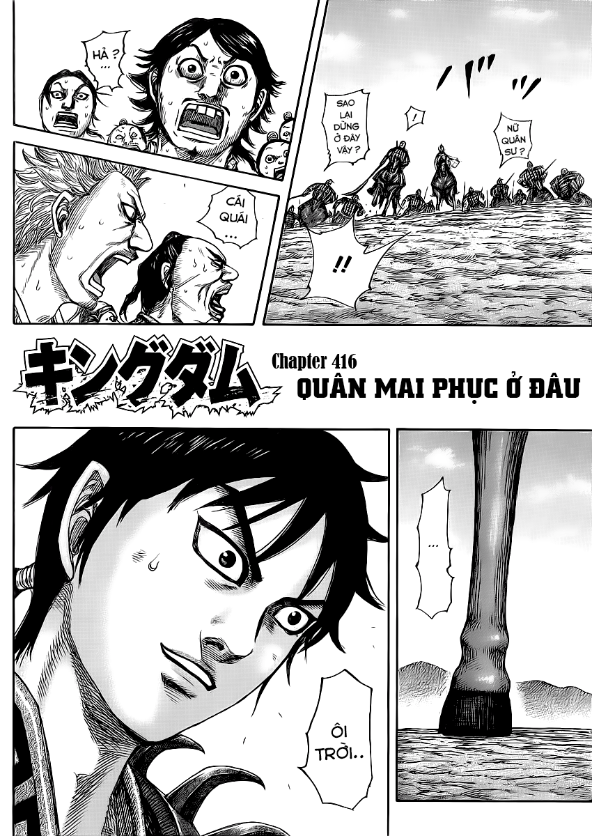 Kingdom - Vương Giả Thiên Hạ Chapter 415 - 416 page 23 - IZTruyenTranh.com