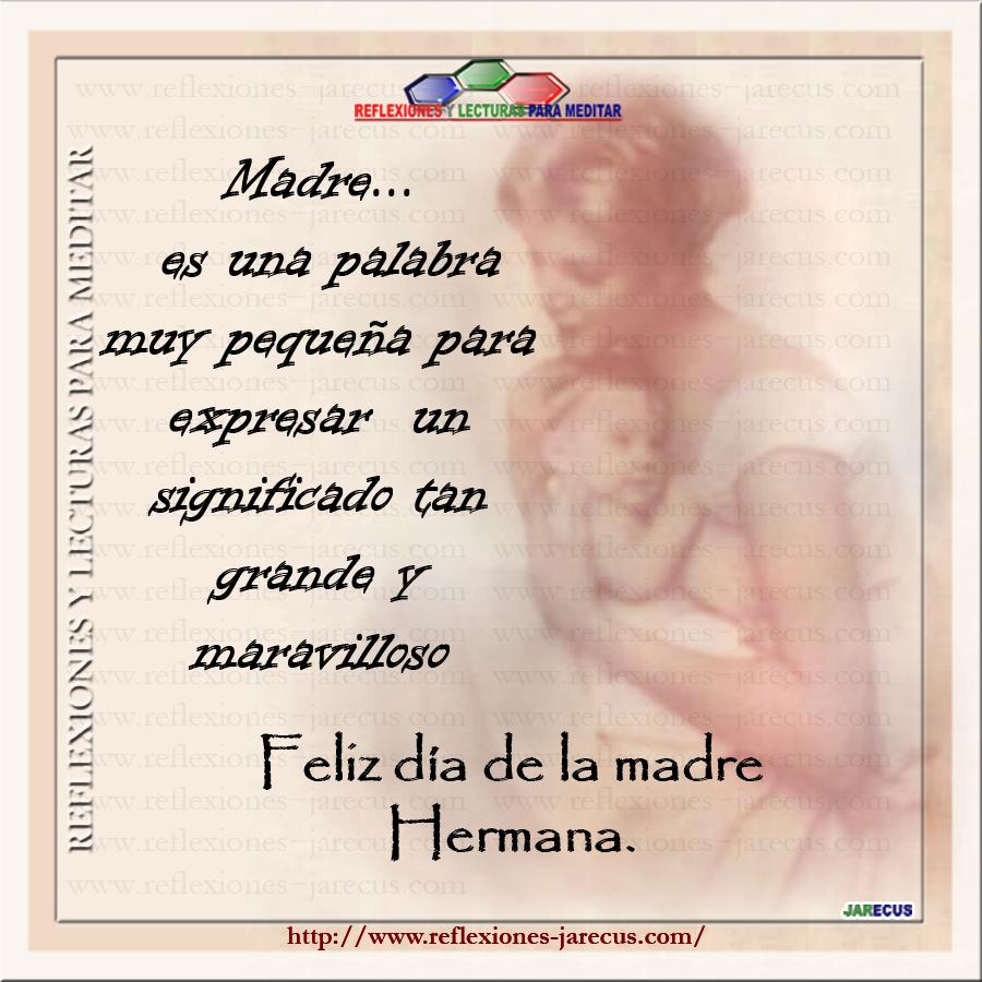 lectura reflexion madre:
