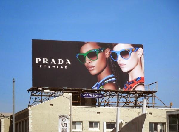 Prada Eyewear Spring 2014 billboard
