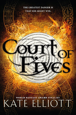 http://www.fantasticfiction.co.uk/e/kate-elliott/court-of-fives.htm