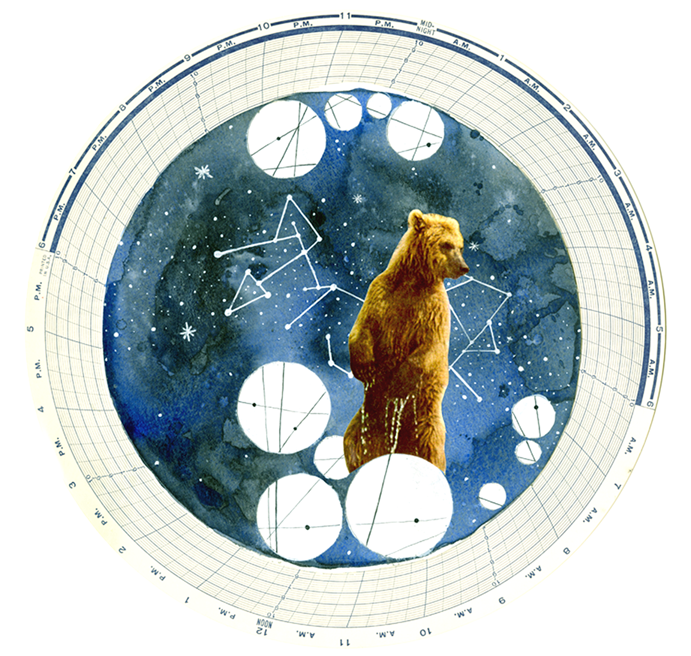 Astrology painting