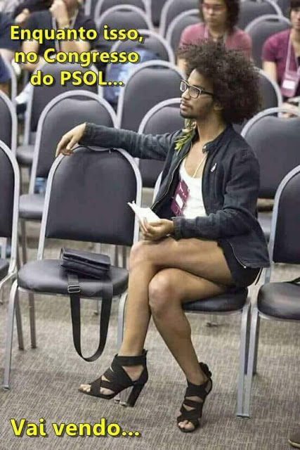ENQUANTO ISSO NO CONGRESSO DO PSOL...