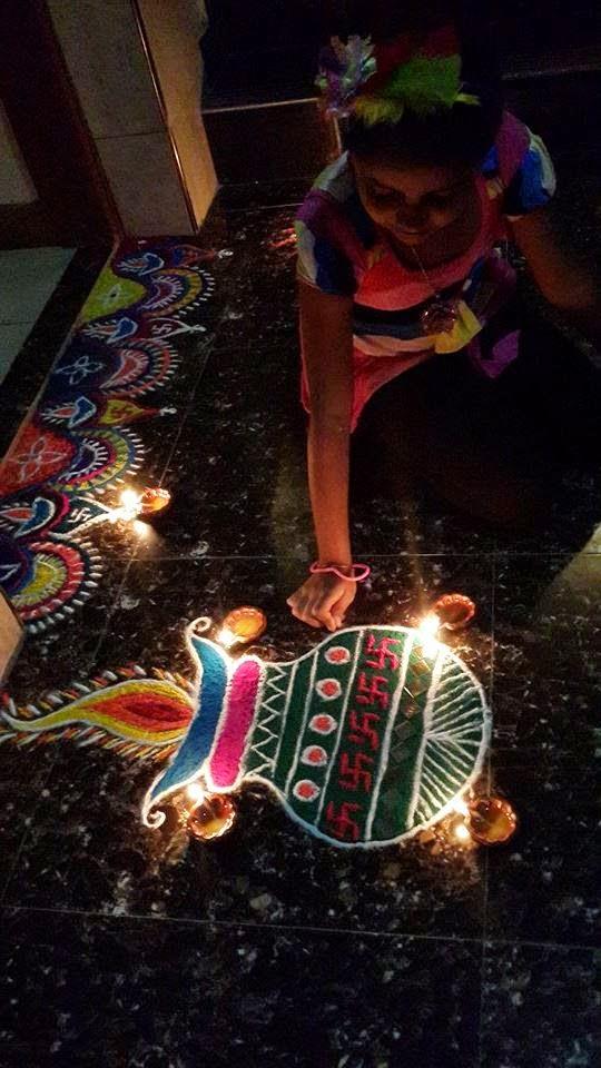 Rangoli Diwali Collection 2014 8