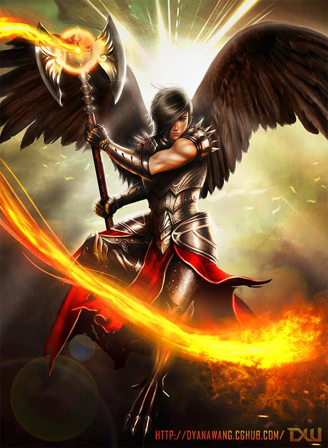 Chekydot Studio: Firestorm Archangel