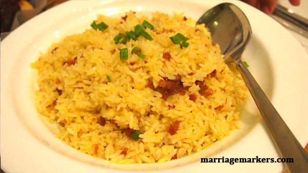 Chorizo Rice at Kuya J Restaurant