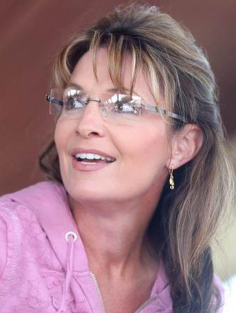 Sarah Palin in pink