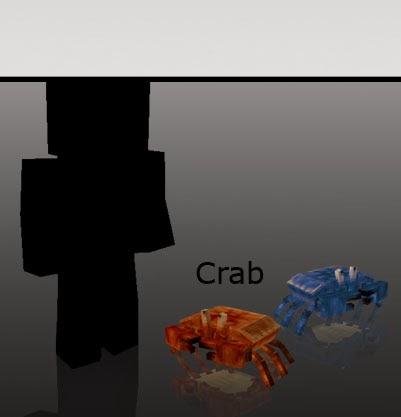 Mo' Creatures cangrejos Minecraft mod