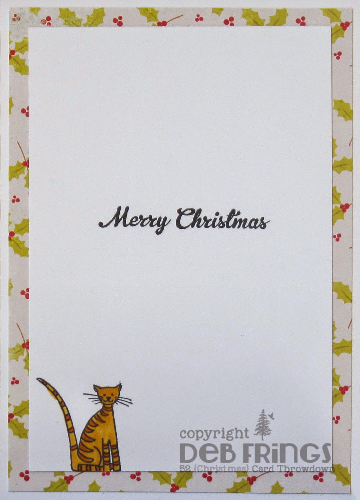 Purrfect Christmas inside - photo by Deborah Frings - Deborah's Gems