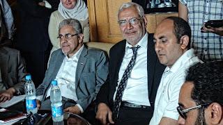 بالصور : تفاصيل اجتماع مرشحي الثورة للرئاسة وعدد من النشطاء السياسيين