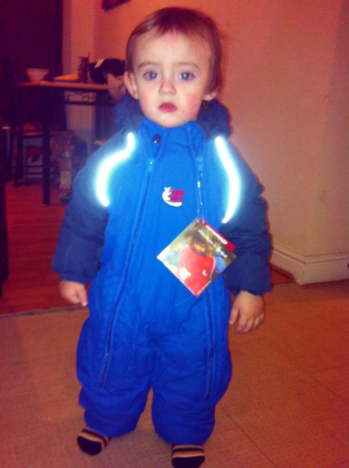 Unique Young Mum: Bush Baby Hot Tot Snow Suit Review