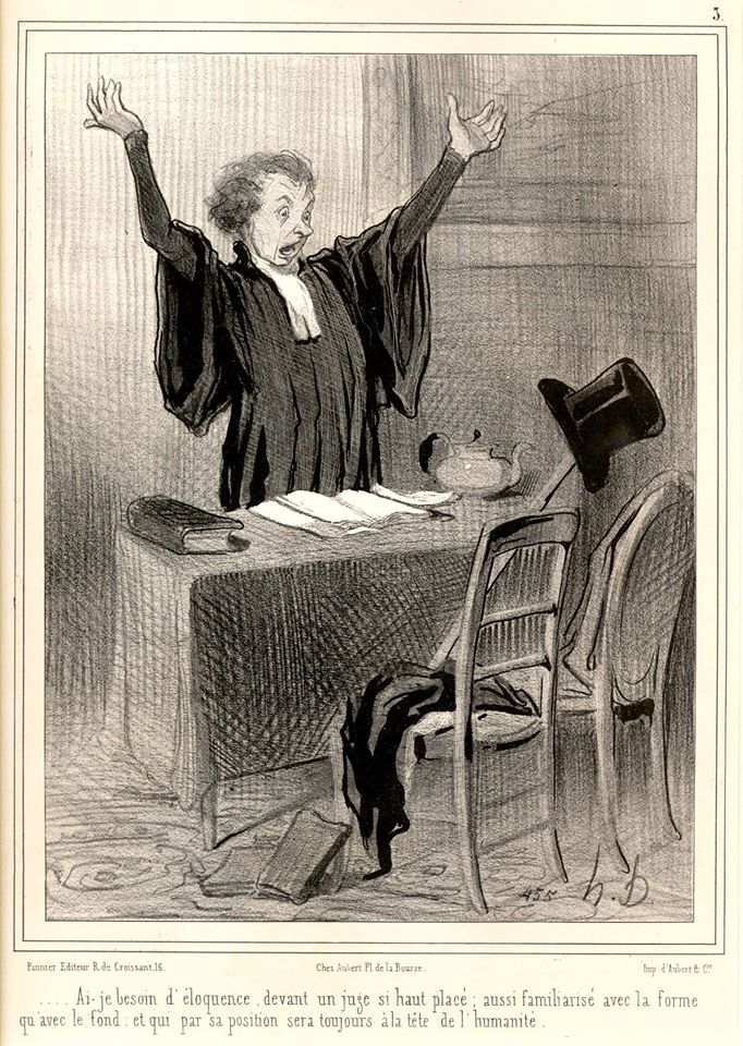 20.-Abogado preparándose para los alegatos y audiencias orales