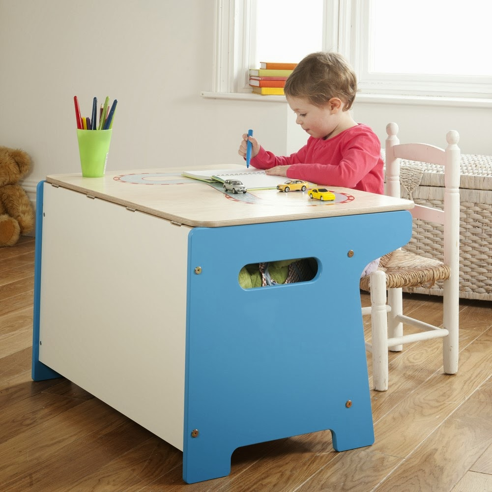 Children's Table With Storage
