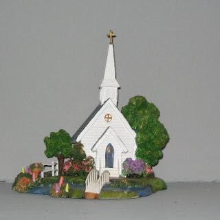 A Rare Thomas Kinkade Hometown Chapel