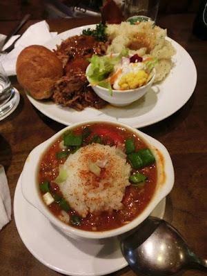 Gumbo and Carolina Pulled Pork at Salt Lick in Hualien