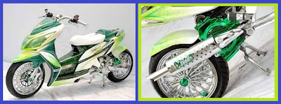 Honda Vario _ Model Racing Lowrider _ Gambar Foto Modifikasi Motor Terbaru 3.jpg